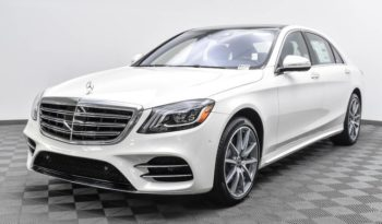 2019 Mercedes Benz S560 Luxury Sedan Lease Special