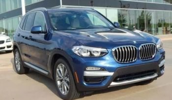 2020 BMW X3 Lease Special