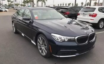 2020 BMW 7 series 740i Lease Special