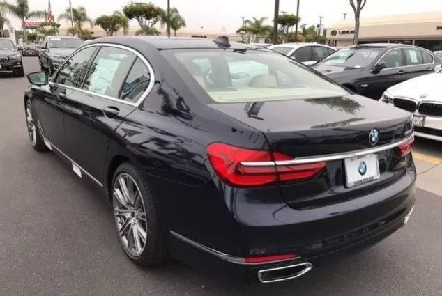 2019 BMW 7 series 740i Lease Special full