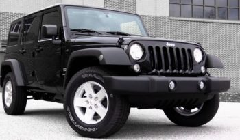 2020 Jeep Wrangler Lease Special